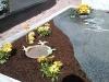 Grabbepflanzung - Detailansicht